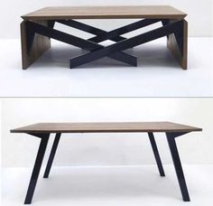 MK-1 transforming from coffee table to dining table and vice versa.