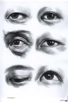 Ideas For Eye Drawing Asian Anatomy Sketches, Anatomy Art, Anatomy Drawing, Eye Drawing Tutorials, Drawing Projects, Drawing Techniques, Pencil Art Drawings, Drawing Sketches, Eye Drawings