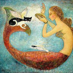 Pearl Painting - Pearl Fine Art Print