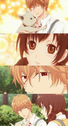 Ookami Shoujo To Kuro Ouji || Kyouya & Erika || What? You want me to pet you, too?