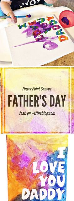 Fathers Day DIY Project for Kids - 14 Fun, Grateful and Clever DIY Father's Day Gifts from Kids