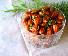 How to roast your own nuts--one sweet and one savory.