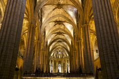 Catedral de la Santa Creu i Santa Eulàlia, Barcelona | Flickr - Photo Sharing!