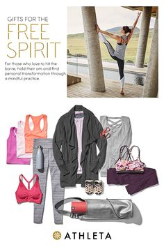 Here at Athleta, we've got gifts for every woman on your list, including hand-picked gifts for the woman who loves yoga, pilates, barre, or simply running around town in the most comfortable yet flattering apparel.