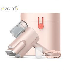2019 New Deerma 220v Handheld Garment Steamer Household Portable Steam Iron Clothes Brushes For Home Appliances Laundry Appliances, Home Appliances, How To Iron Clothes, Steam Iron, Household, Brushes, Garment Steamers, Image, Electric