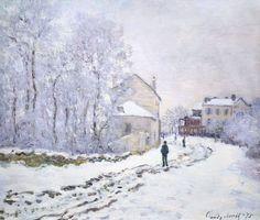 Neige à Argenteuil (Monet)
