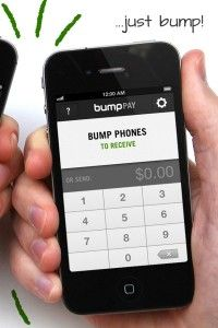 Ubiquitous computing: Bump Introduces Bump Pay, Allows You to Pay Friends By Tapping Phones