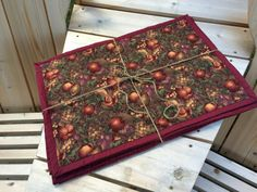 A Harvest of Fruitfulness Set of 6 Quilted by CozeeQuilts on Etsy