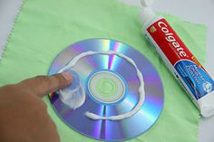 "When CDs were released we were told about their ""indestructibility"". But soon after some of us have been brutal with our new CDs they were seen as not the immortals they were believed to be. Commercial CD repair kits are expensive, but there is one key thing to repair CDs that isn't. Whats that? Toothpaste."