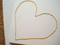 Eura Heart Yellow Card by EuraLee on Etsy Gold Necklace, Trending Outfits, Unique Jewelry, Handmade Gifts, Yellow, Heart, Cards, Blog, Etsy