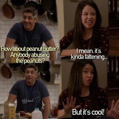 The Fosters...love that part