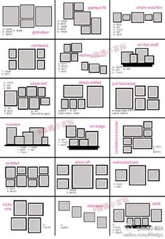 3 picture frame arrangement – Home Interior Design Ideas Room Wall Decor, Bedroom Wall, Bedroom Decor, Bedroom Frames, Frame Wall Collage, Wall Of Frames, Wall Frame Layout, Diy Picture Frames On The Wall, Picture Wall Collage