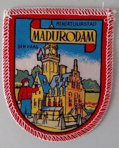 Madurodam Miniature Park Netherlands Patch Sew On Travel Souvenir Collectible    #Unbranded