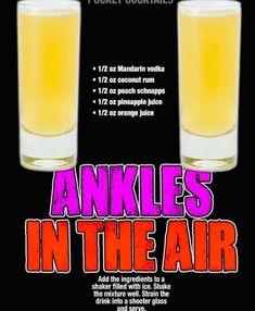 Mixed Drinks Alcohol, Party Drinks Alcohol, Liquor Drinks, Alcohol Drink Recipes, Cocktail Drinks, Punch Recipes, Fireball Recipes, Shot Recipes, Vodka Drinks