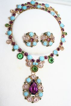 Image result for vintage costume jewelry necklaces