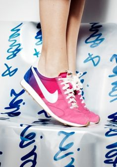 And Other Stories | Nike Pre Montreal Racer Fade | Red Light