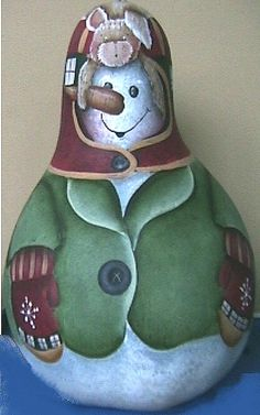 painted gourd ideas   Sweet Ornies for your holiday needs...