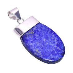 Shop Bullahshah Women Sterling Silver Overlay Oval Lapis Lazuli Stone Inches Necklace Pendant Handmade Rhodium Plated Chain Free delivery on eligible orders of or more. Amethyst Stone, Purple Amethyst, Handmade Sterling Silver, Sterling Silver Pendants, Lapis Lazuli Healing, Gemstone Necklace, Pendant Necklace, Turquoise Gemstone, Stone Pendants