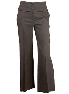 Dorothy Perkins Brown textured trousers 4 button trouser with stylish wide waistband, piping trim and cinch back detail. Available in 29, 31 and 33. 71% Polyester,26% Viscose,3% Elastane. Machine washable. http://www.comparestoreprices.co.uk/ladies-suits/dorothy-perkins-brown-textured-trousers.asp