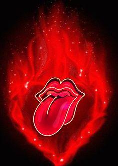 Heavy Metal, Hot Licks, Motion Wallpapers, Start Me Up, Rolling Stones Logo, Lip Wallpaper, Rollin Stones, Rock Band Logos, Vintage Music Posters