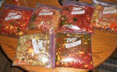 Hezzi-D's Books and Cooks: 11 Freezer Meals Prepared in 1 Day! Grocery List and recipes all on 1 page.