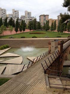 Parc Central de Nou Barris. Barcelona. Spain. 1999.