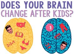 Does your brain change after kids?