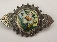 Victorian silver pin
