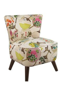 Floral Chair by Gold Coast Furniture Collection on @HauteLook