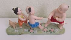 """Suncera Royal Figurine """"Children at Play"""" 