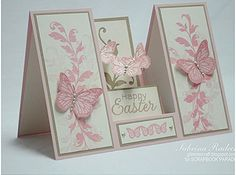 Easter Stair Step Card from Facebook.