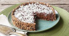 Revista Ana Maria - Torta fácil de ameixa-preta, chocolate e coco