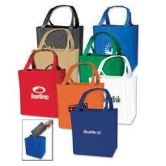 Promotional Tote Bags, Another practical Medium Grocery Tote Bag Tote Bag - 9712 from www.BagFrenzy.com