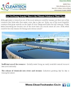 Today many companies have come up with a wide range of water treatment plants in India in order to give a good fight against scarcity. But how to choose one?