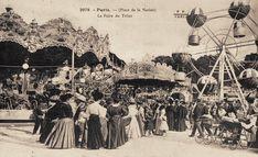 Foire aux Pains d'Epices, autre nom de la Foire du Trône, vers 1900... Place de la Nation