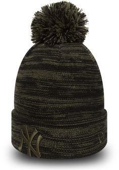 NY Yankees New Era Marl Knit Bobble Hat 07bf7d56a61