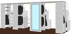 Loft Conversion - Storage in the eaves - a walk-in closet Attic Closet, Closet Bedroom, Master Closet, Walk In Closet, Loft Storage, Built In Storage, Locker Storage, Attic Bedrooms, Upstairs Bedroom
