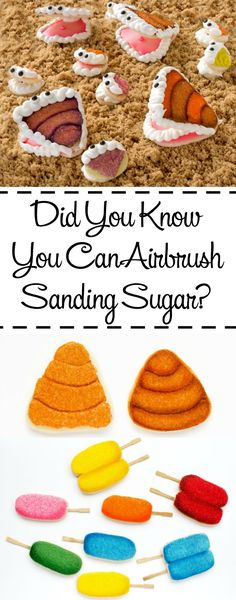 Did you Know You Can Airbrush Sanding Sugar? Learn how with this Clam Cookie Tutorial   The Bearfoot Baker