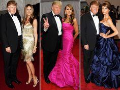 Gli outfit di Melania Trump
