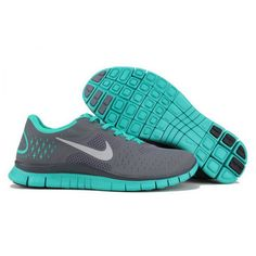 Nike Free Run 4.0 V2 Teal Blue Runs Shoes Manchester
