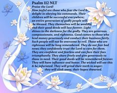 Psalm 112.