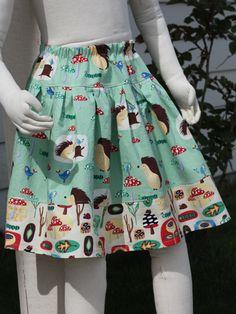 sewingmamas.com hopscotch skirt. Elastic Waist and CUTE CUTE CUTE! Free pattern