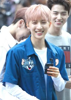 His smile omy