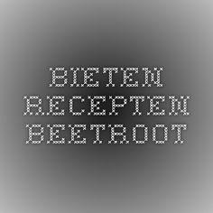bieten recepten - beetroot