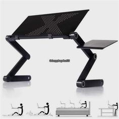 Able Perfect Chill Desk Computers/tablets & Networking Folding Table Stand For Notebook Laptop With Mouse Holder Drip-Dry