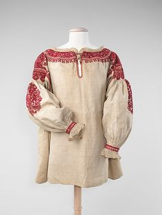 Blouse Late 19th Century Spain