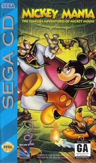 Mickey Mania - The Timeless Adventures of Mickey Mouse (Sega CD)