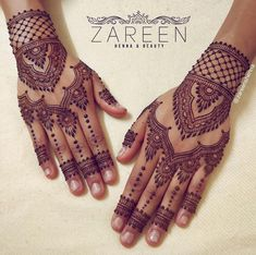 25 Stylish Back Hand Henna Designs Idea - Trending in 2018 Wedding Mehndi Designs, Best Mehndi Designs, Arabic Mehndi Designs, Simple Mehndi Designs, Mehndi Designs For Hands, Mehandi Designs, Foot Henna, Hand Mehndi, Mehndi Art