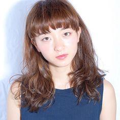 【hiroyuki3329】さんのInstagramの写真をピンしています。《今日はカラーモデル。久しぶりな感じ(^_^;) ヤッパリ美容好きだな^ ^ #似合わせカット #似合わせ #加工無し#美容室 #美容師 #林 #宏幸 #福岡 #デジタルパーマ #美容大好き #シースルーバング #まゆうえバング #まゆうえ前髪 #まゆうえぱっつん #まゆうえちゃん #ネイビーカラー》
