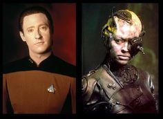 Star Trek Data and Borg